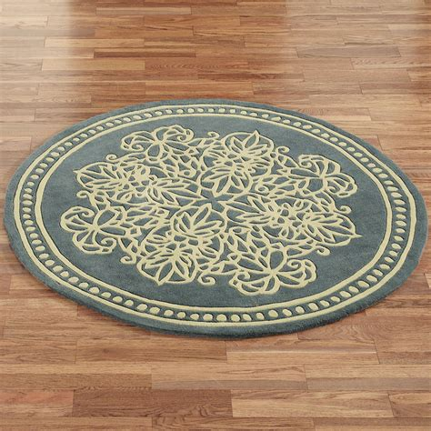 Circular Rugs Lucia Lace Wool Area Rugs