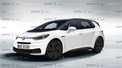 Volkswagen Id Family 2020 by Volkswagen I D Hatch Rendered To