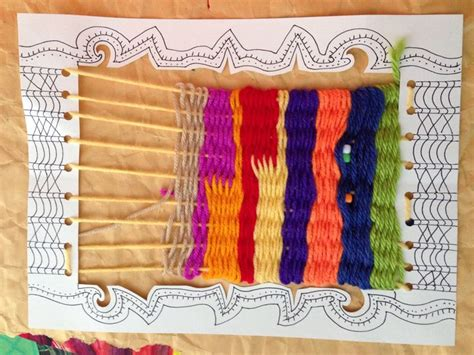 string pattern weaving frame 17 best images about clay loom making on pinterest