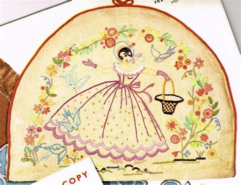 vintage pattern lady vintage embroidery pattern 1940s crinoline victorian lady