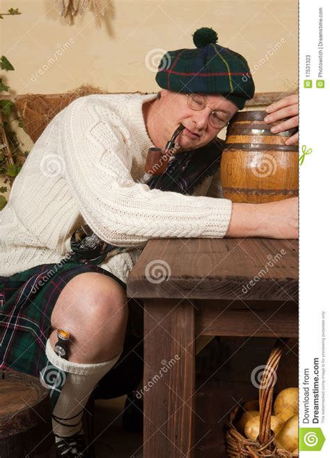 when you a scotsman seven brides seven scotsmen books drunken scotsman stock photos image 17531323