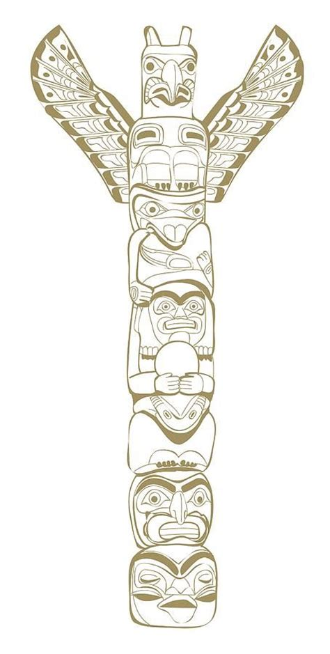 totem pole tattoo designs 17 best images about designs totems and