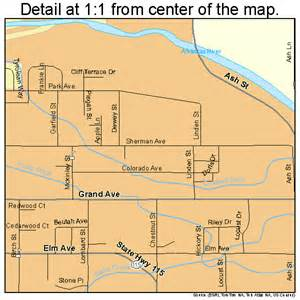 canon city colorado map 0811810