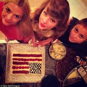 instagram ina garten taylor swift larks around in swimming pool with jaime king