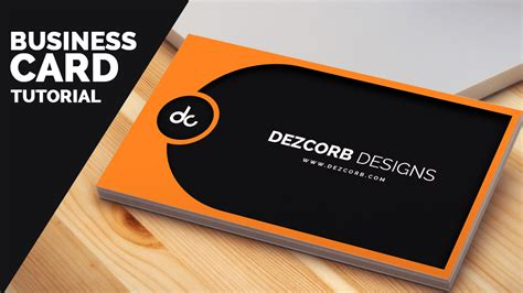 design grafis business card business card design in photoshop cs6 tutorial learn