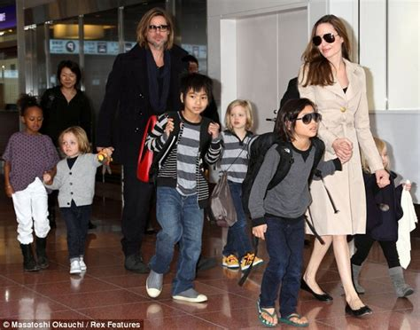 Brangelina And Baby Makes Six by Brad Pitt S Gushes About His Six Children With