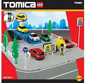 Childrens Tomica Hypercity Car Park Diecast Vehicle Toy