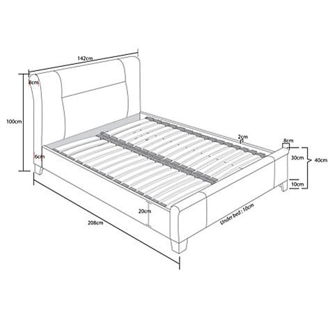 Milan Bed Frame Buy Lewis Milan Bed Frame Lewis