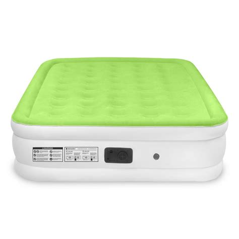 air comfort easy size raised air mattress 6202qrb vip outlet