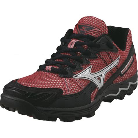 black mizuno running shoes wave harrier 3 fell running shoes black at