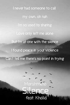 Young, Dumb and Broke - Khalid Lyrics Lockscreen
