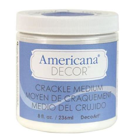 decoart americana decor 8 oz crackle medium adm08 45