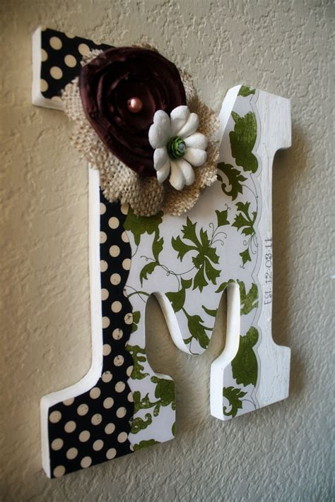 Decorating Wooden Letters For Nursery 1000 Images About Wooden Letter Ideas On Pinterest Decorate Wooden Letters Wooden Letters