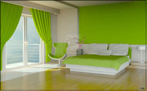 16 green color bedrooms - Bedroom Design Green