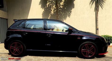 volkswagen polo black modified volkswagen polo white modified