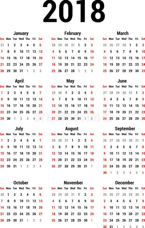 kalender 2018 2 free printable calendars 2017