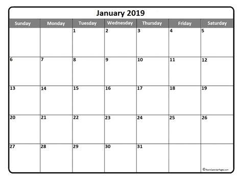 printable calendar january 2019 january 2019 calendar january 2019 calendar printable