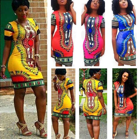 Minidress Sale Type 6 boho dashiki dresses shirt clubwear