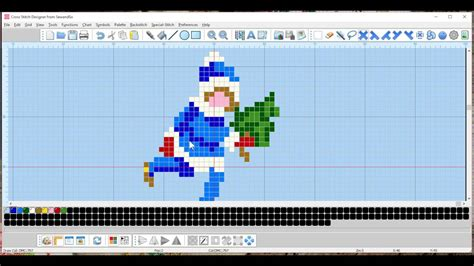 software design pattern youtube maria diaz cross stitch software tutorial christmas cards