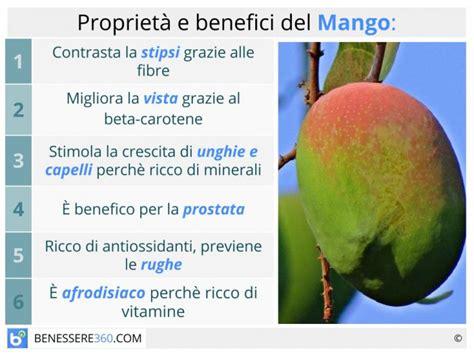 alimenti dimagranti mango propriet 224 nutritive e dimagranti calorie e valori