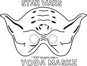 children s mask templates printable yoda mask template for easton s yoda