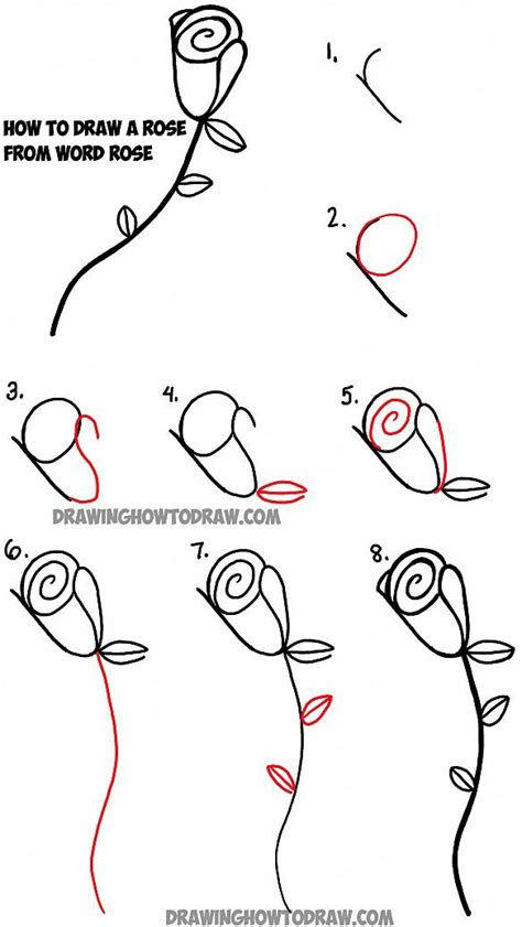 how to draw doodle roses learn how to draw roses with the word drawing