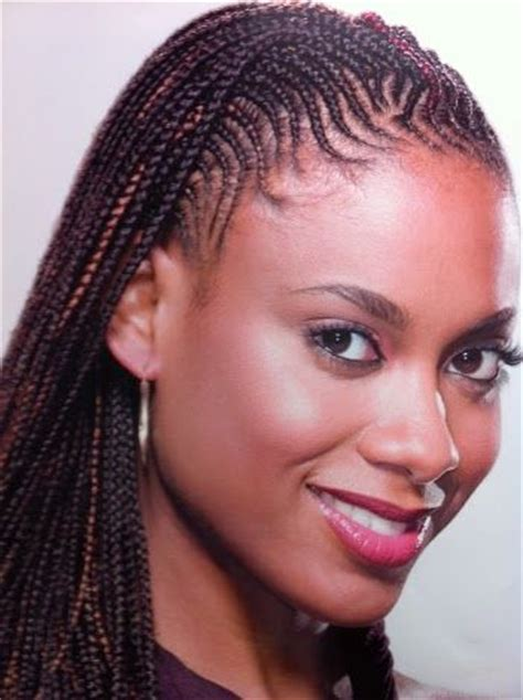 box braids in front weave in back african americans natural and cornrows on pinterest