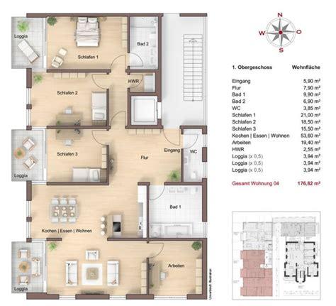 7 Zimmer Wohnung Grundriss by 3 Zimmer Wohnung Grundriss Die Neuesten