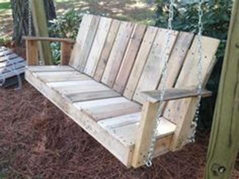 pallet porch swing instructions how to make a porch swing out of pallets google search