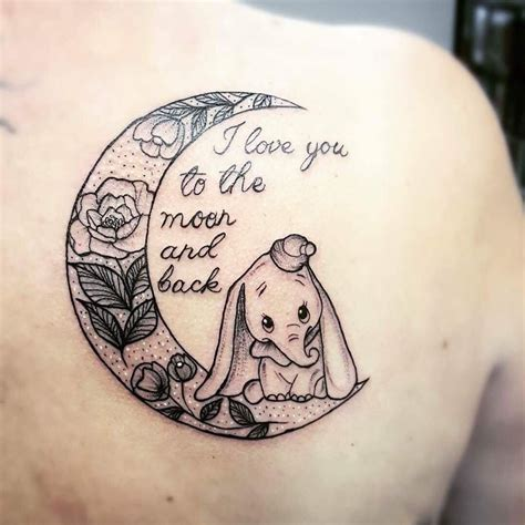 dumbo tattoo this dumbo inspired is prefect for mothers or