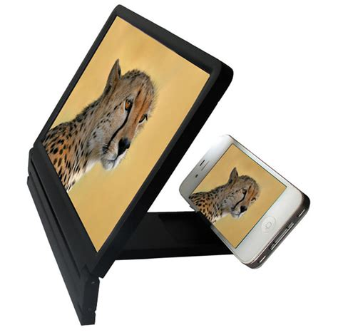 Holder Stand Panci foldable portable mobile phone screen magnifier hd