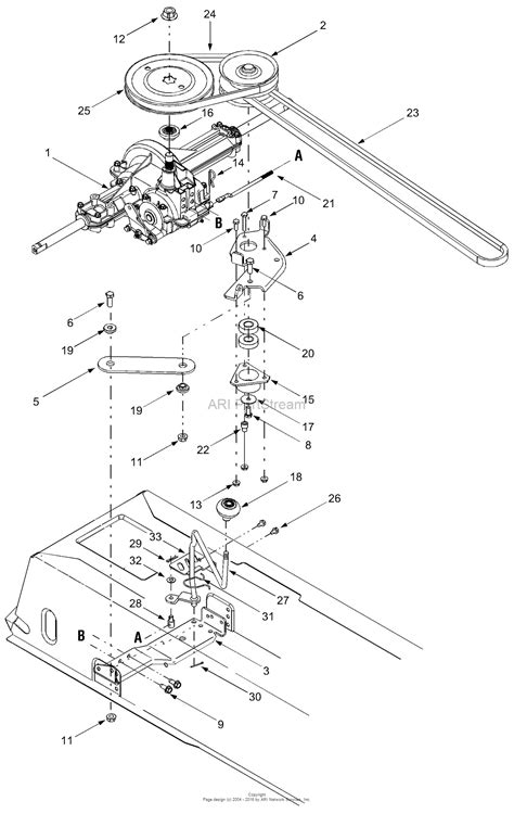 mtd ag  parts diagram  drive