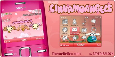 themes for mobile c3 cinnamoangels nokia c3 themes themereflex