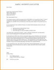 Certification Letter For Maternity Leave how to write annual leave inside sample maternity leave letter