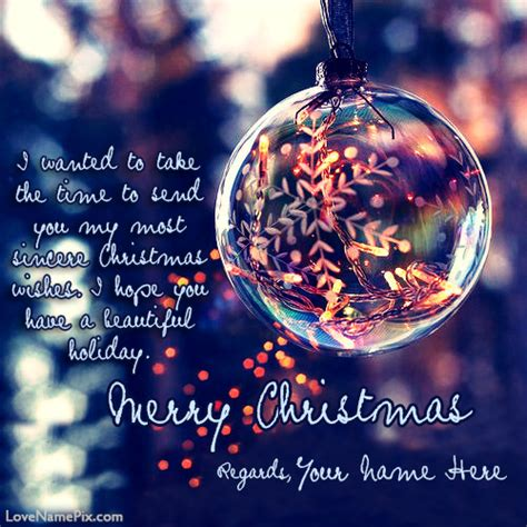 write    beautiful merry christmas greeting cards image