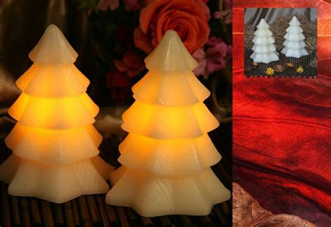 china flameless christmas tree candle china flameless
