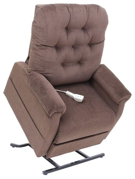 easy lift recliner easy comfort electric lift chair recliner chocolate