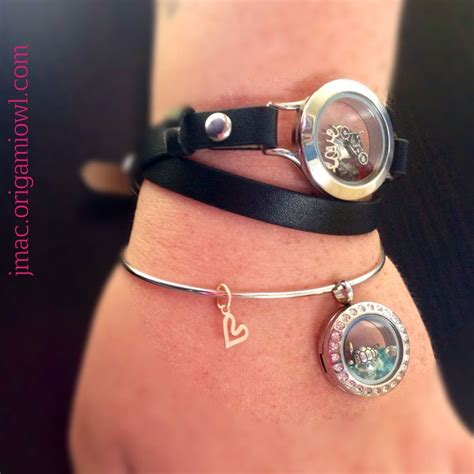 Origami Owl Braclet - origami owl new charms bangle mini locket and