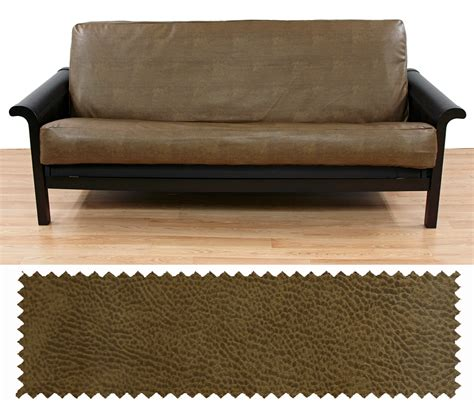 Futon Faux Leather by Faux Leather Rawhide Futon Cover