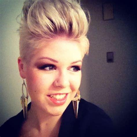 platinum blonde mohawk 1000 images about hair cuts styles on pinterest short