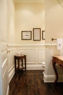 bathrooms with dark wood floors best 25 wainscoting bathroom ideas on pinterest half