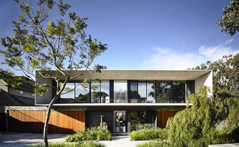 Concrete House Matt Gibson Architecture Archdaily Blue Modern Concrete House Plans