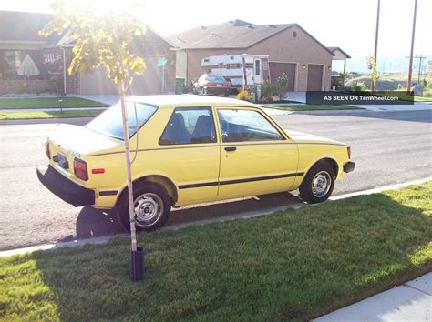 1982 Toyota Tercel 1982 Toyota Tercel Std Sedan 2 Door 1 5l
