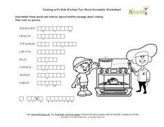 Garage Unscramble Food Safety Word Search Puzzle For 7 Words All