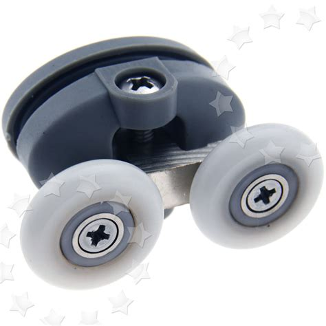 Shower Door Runner Wheels 23mm Pair Of Top Shower Door Rollers Wheels Runners Kit Zinc Alloy Ebay