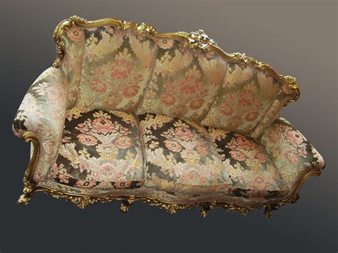 italian settees ornate carved italian sofa antiques atlas