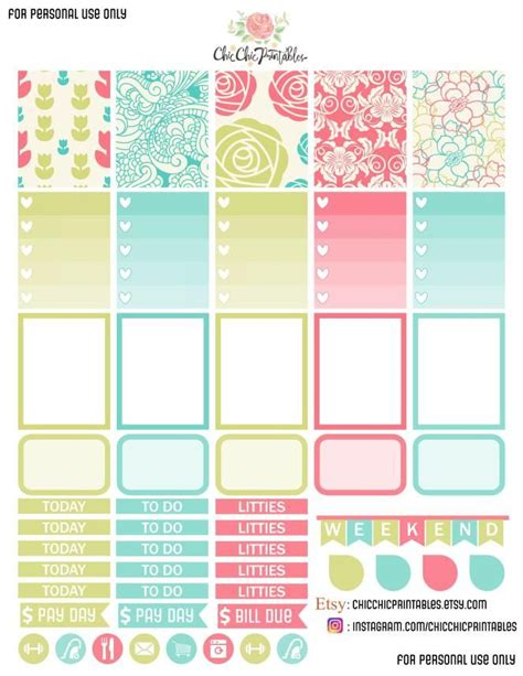 printable planner stickers free free printable floral stickers planner stickers