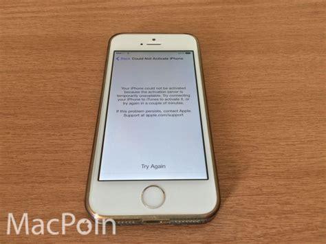 mengatasi iphone error tidak bisa aktivasi macpoin