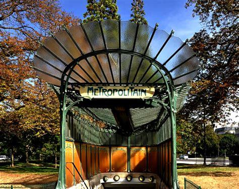 le porte di parigi architettura nouveau nella metropolitana di parigi