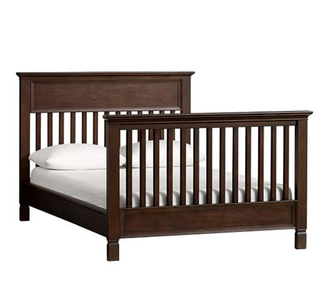 conversion cribs beds larkin crib bed conversion kit pottery barn